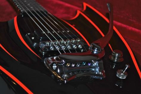 batman wing guitar