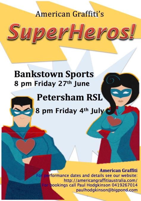 We can Superheros too!